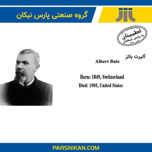 آلبرت باتز مخترع ترموستات الکتریکی