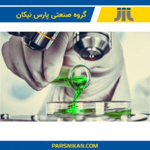 مایع خنک کننده در آزمایشگاه کنترل کیفی