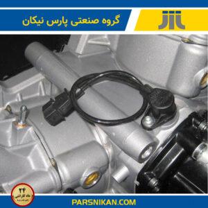 محل قرارگیری سنسور دور موتور